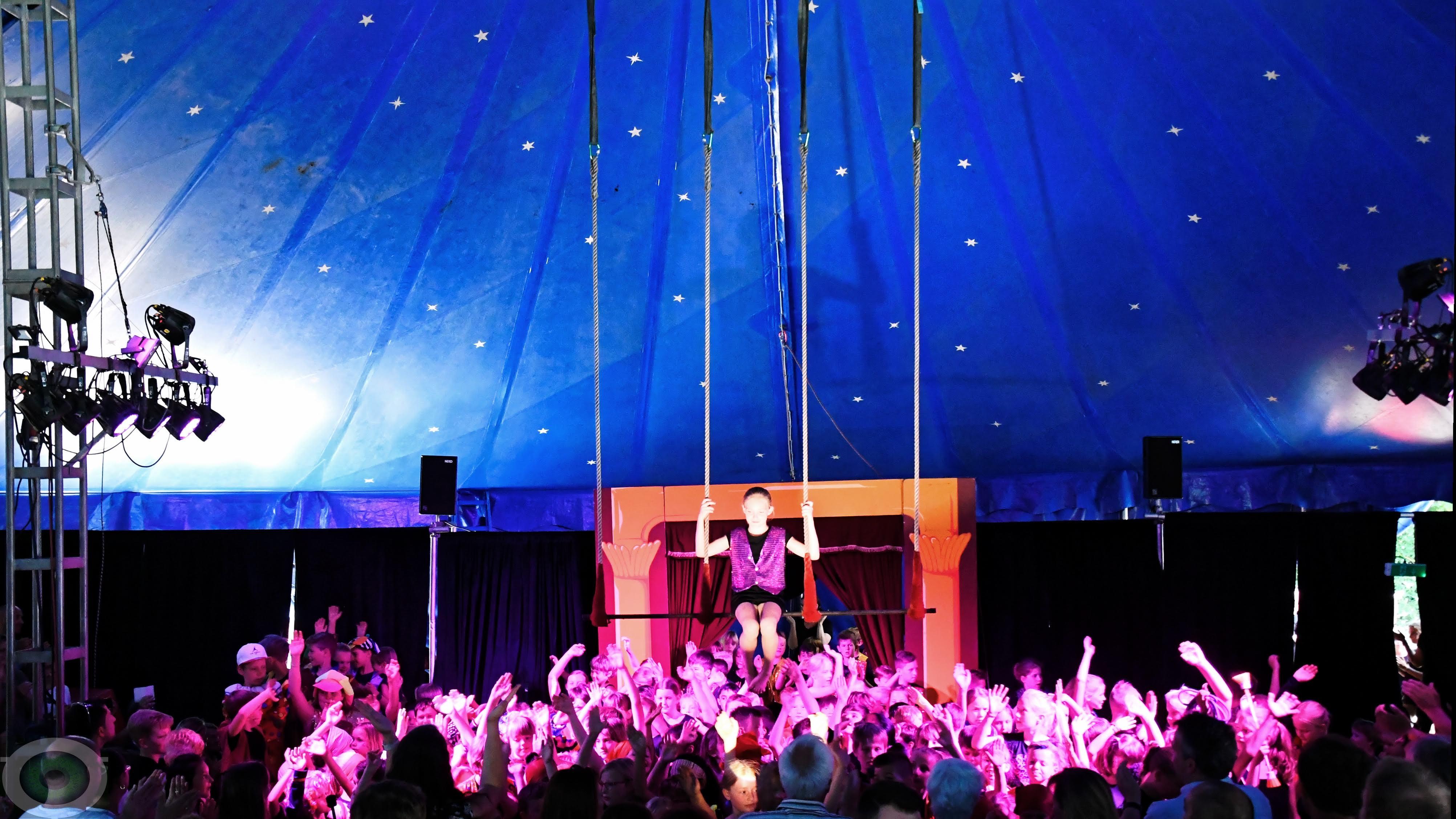 Fantastische Zirkusartisten