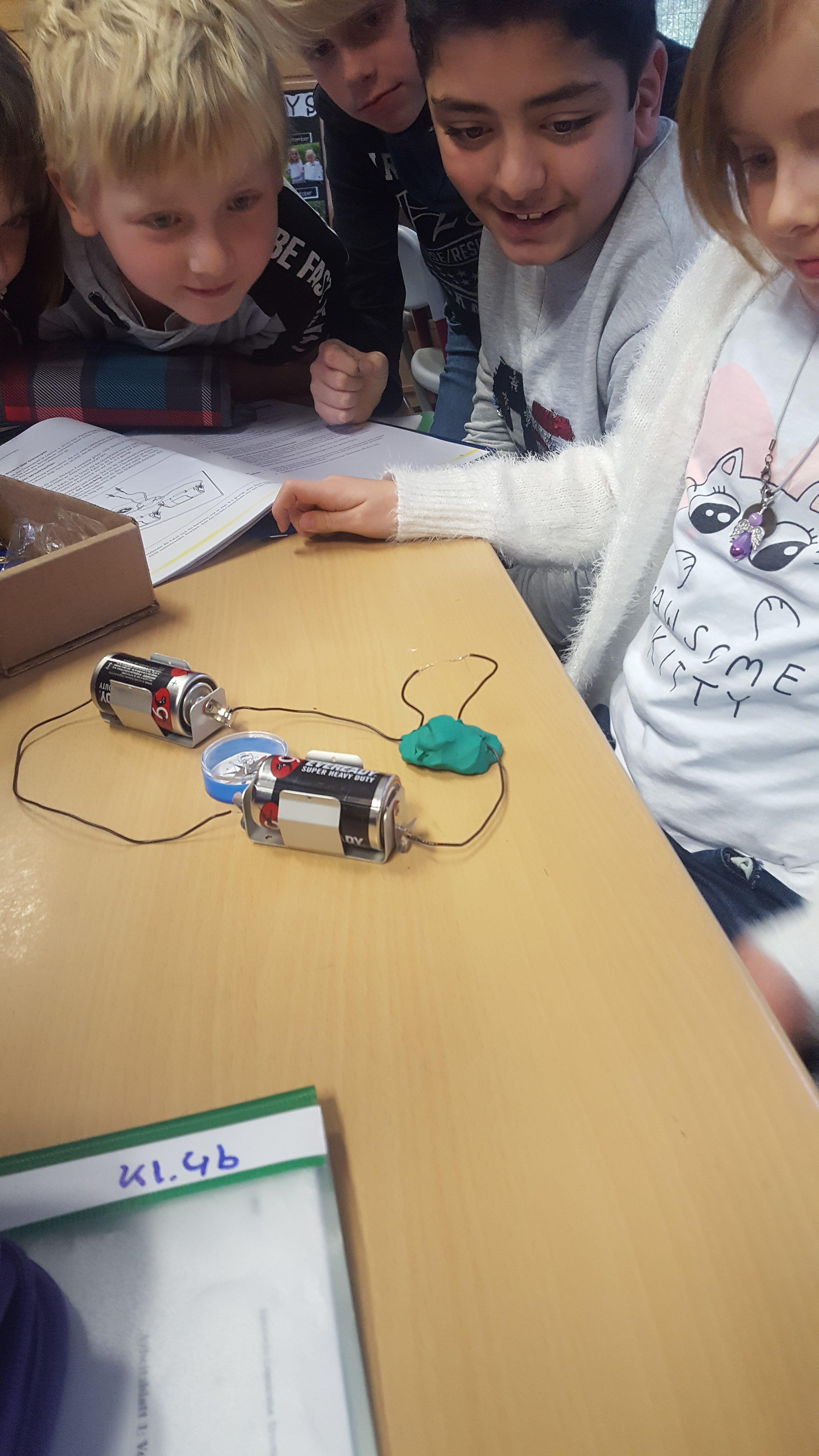 Elektrische Stromkreise in Klasse 4