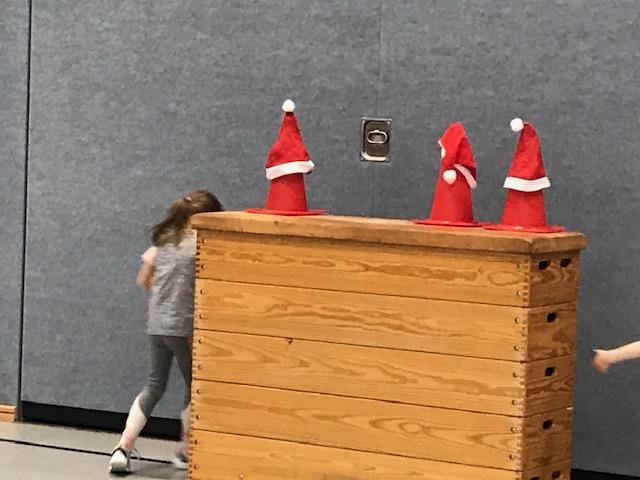 Nikolaustag in der Sporthalle