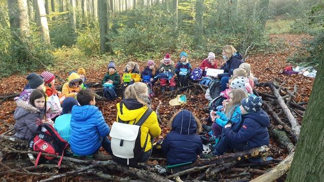 Waldtag der Fuchsklasse