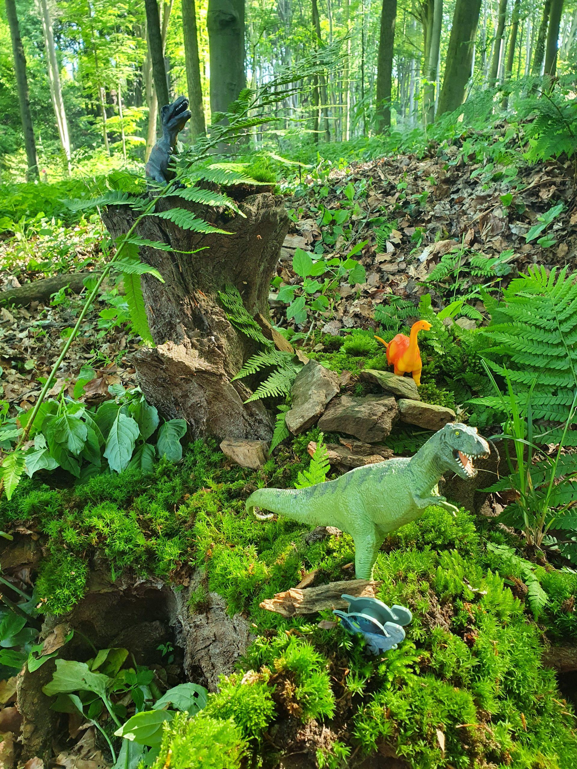 Hilfe, die Dinos sind los…im Wald mit 2a/2b!